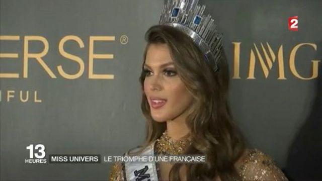 Miss Univers : la Française Iris Mittenaere couronnée
