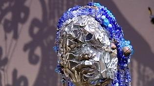 """Le mystère, la couleur, les masques très présents dans l""""art haïtien  (France O)"""