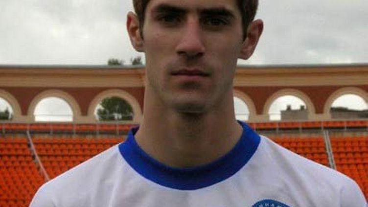Maxim Tsigalko sous les couleurs du Dinamo Minsk