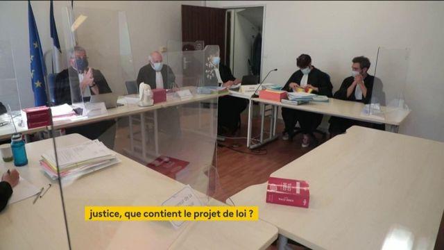 Justice : les 36 mesures de la réformes présentées
