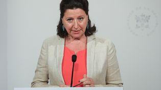 La ministre de la Santé Agnès Buzyn, le 24 juillet 2019 à Paris. (LUDOVIC MARIN / AFP)