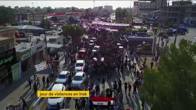 Irak : des milliers d'Irakiens toujours dans la rue contre le gouvernement