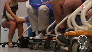 Des personnes atteintes de sclérose en plaques (France 2)