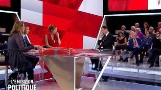 """Capture écran de """"L'Emission politique"""", le 8 décembre 2016. (FRANCE 2)"""