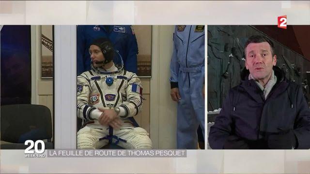 Espace : la feuille de route de Thomas Pesquet