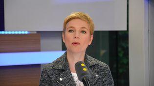Clémentine Autain,conseillère régionale Ile-de-France, soutien de Jean-Luc Mélenchon. (RADIO FRANCE / JEAN-CHRISTOPHE BOURDILLAT)