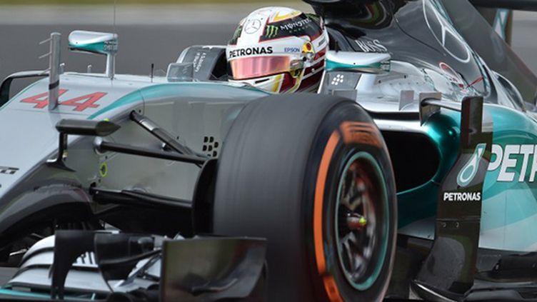 Le Britannique Lewis Hamilton