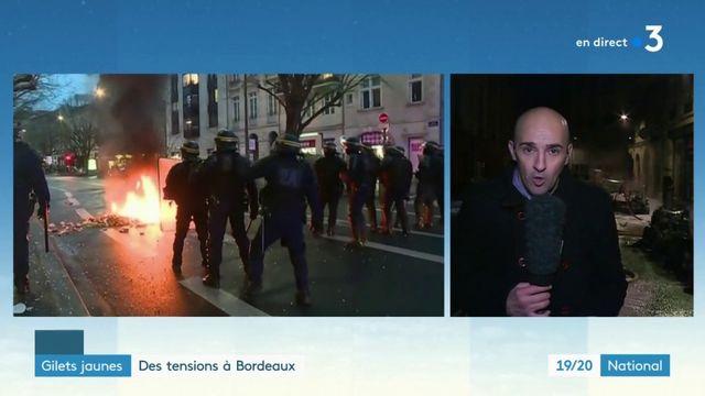 """""""Gilets jaunes"""" à Bordeaux : quel bilan pour l'acte 10 ?"""