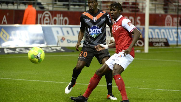 Laval fait tomber Reims lors de la 15e journée de Ligue 2 (CHRISTIAN LANTENOIS L'UNION/L'ARDENNAIS / MAXPPP)