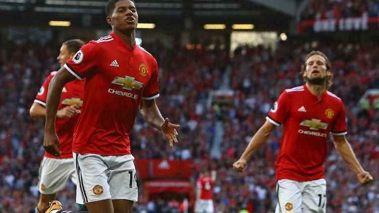 Manchester, inarrêtable en ce début de saison (GEOFF CADDICK / AFP)