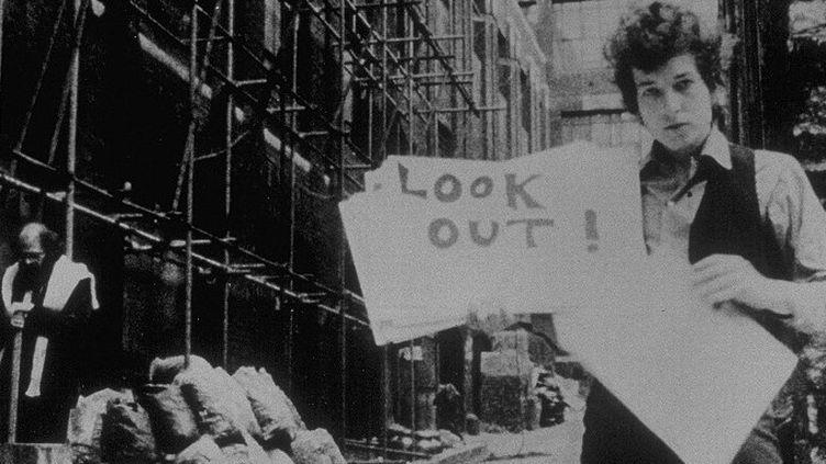 Bob Dylan en 1967 (avec à gauche Allen Ginsberg)  (Kobal / The Picture Desk)