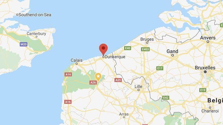 Saint-Pol-sur-Mer se trouve à l'ouest de Dunkerque (Nord). (CAPTURE D'ECRAN GOOGLE MAPS)