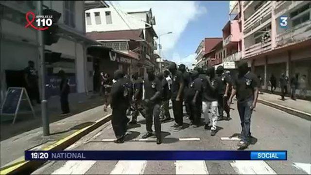 Guyane: le mouvement social s'intensifie