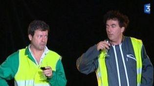 """Les Chevaliers du Fiel en tournée avec """"La brigade des feuilles""""  (Culturebox)"""