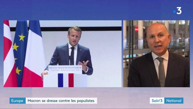 Elections européennes : scrutin de taille pour Macron
