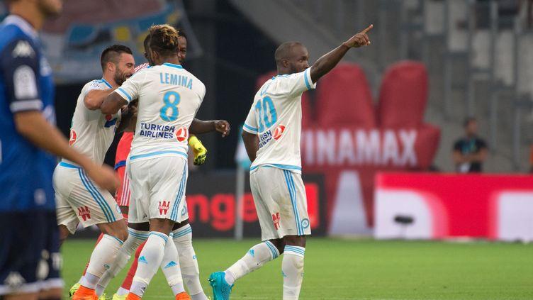 Lassana Diarra n'avait jamais joué en Ligue 1 avant le match face à Troyes (BERTRAND LANGLOIS / AFP)