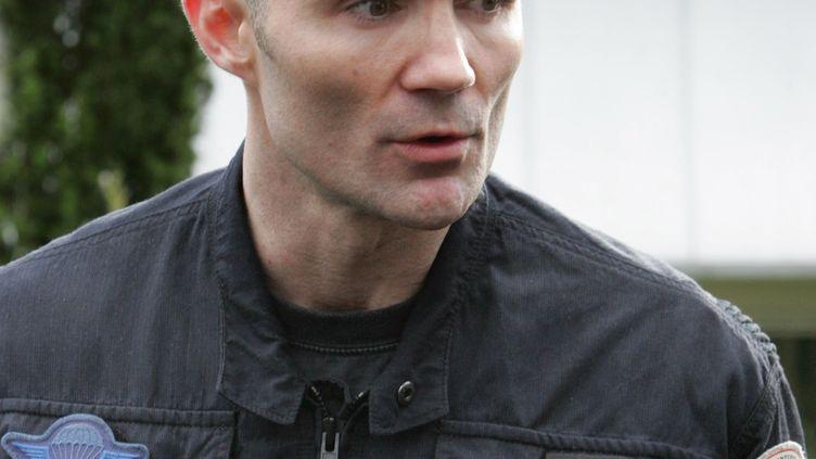 Frédéric Gallois, ici en 2007, a commandé le GIGN de2002à 2007. (JACK GUEZ / AFP)
