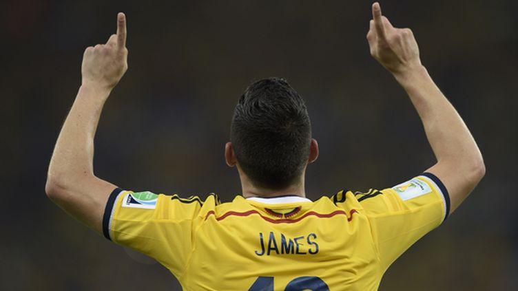 Le Colombien James Rodriguez (DANIEL GARCIA / AFP)