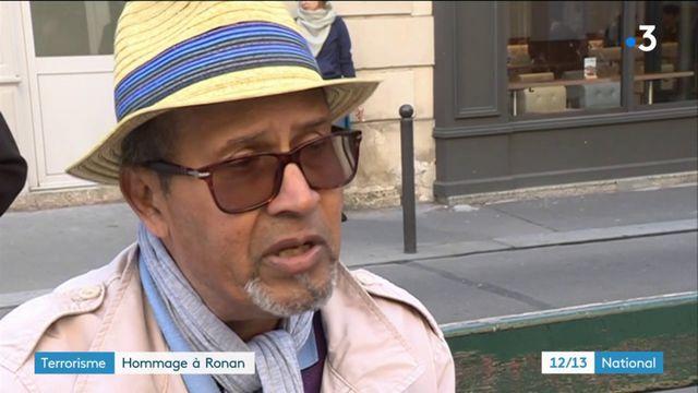 Attentat à Paris : les élus rendent hommage à Ronan, victime du terroriste