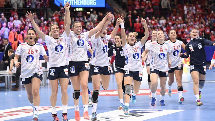La joie des Norvégiennes (JONATHAN NACKSTRAND / AFP)