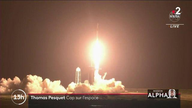 """Espace : un départ """"magique"""" et réussi pour Thomas Pesquet"""