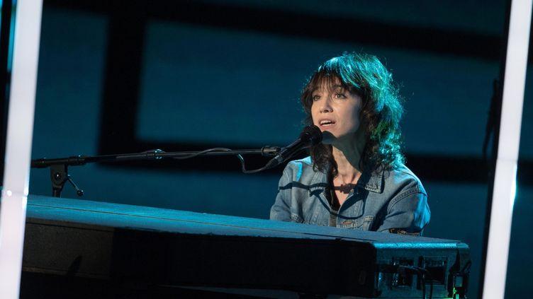 Charlotte Gainsbourg aux Victoires de la Musique 2018.  (David Nivière / SIPA)
