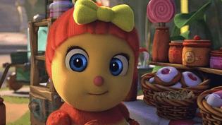 """""""Mireille l'abeille"""" l'une des drôles de petites bêtes créées par Antoon Krings  (France 3 / Culturebox / Capture d'écran)"""