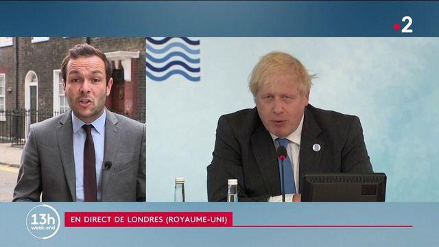 """13h : Crise des """"sous-marins"""" : la France qualifie les Britanniques """"d'opportunistes"""""""