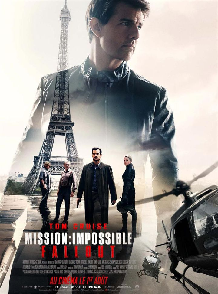 """""""Mission : impossible - Fallout"""" : l'affiche  (Paramount Pictures France)"""
