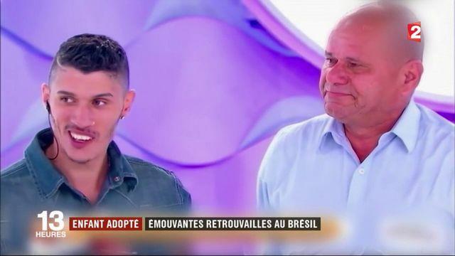Enfant adopté, il retrouve ses parents biologiques au Brésil