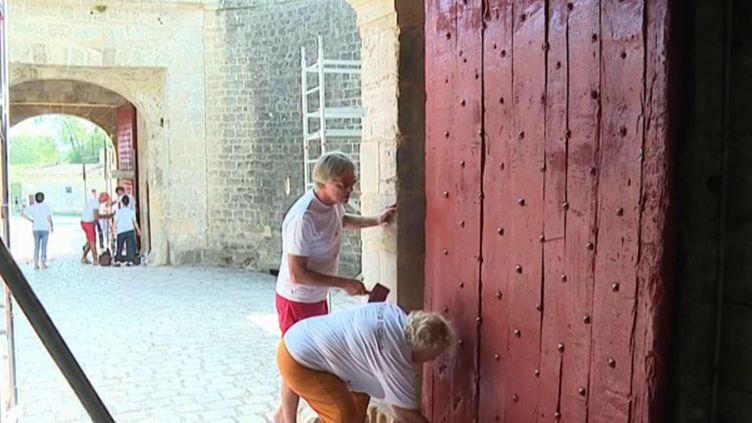 En Gironde, la citadelle de Blaye a retrouvé ses couleurs originelles grâce à l'action d'une association. (FRANCE 3)