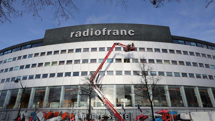 La Maison de la radio, siège de Radio France, le 24 janvier 2018. (LUDOVIC MARIN / AFP)