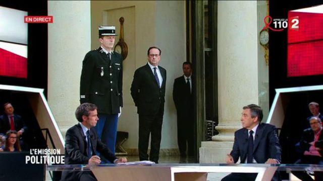 """Fillon accuse Hollande d'animer un """"cabinet noir"""""""