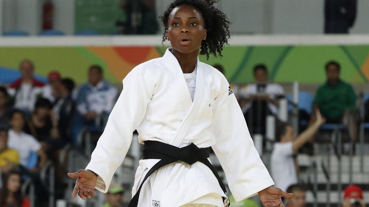 Première médaille internationale en -57 kg pour Priscilla Gneto (JACK GUEZ / AFP)