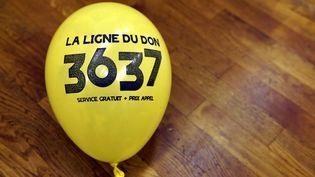 Le numéro de téléphone 36 37 permet de faire des promesses de dons pour le Téléthon. (MAXPPP)