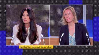 Yara Lapidus et Sarah Briand (FRANCEINFO)