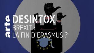 Non, le Brexit ne va pas mettre fin au programme Erasmus au Royaume-Uni pour le moment (ARTE/LIBÉRATION/2P2L)