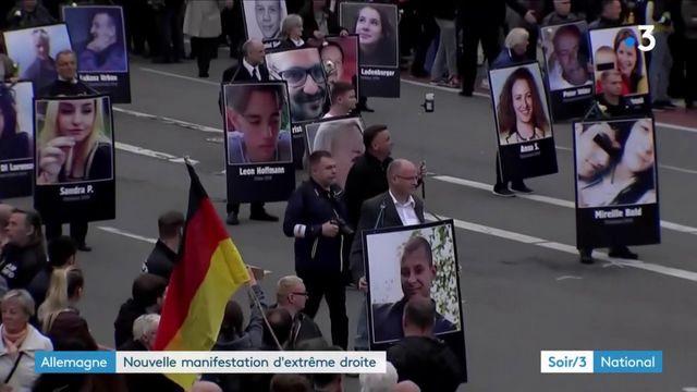 Allemagne : les manifestations d'extrême droit se multiplient à Chemnitz