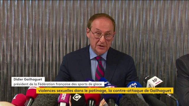 """Didier Gailhaguet énumère les """"actions préventives"""""""