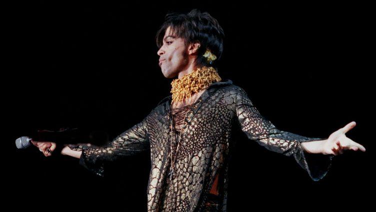 Prince (Stockholm, août 1998)  (Nicklas Fransson / TT NEWS AGENCY / TT News Agency/AFP)