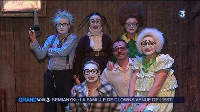 Spectacles : Semianyki, la famille de clowns venue de l'Est