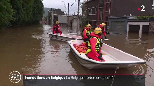 Belgique : deuil national décrété après les inondations meurtrières