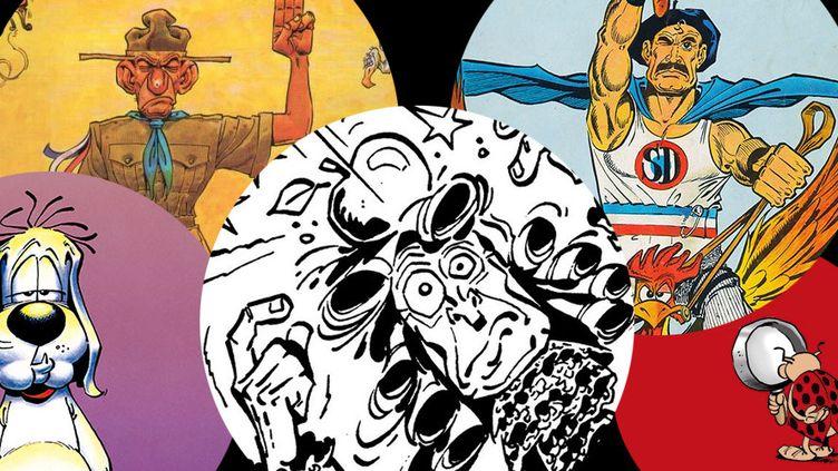 5 personnages cultes de Gotlib, disparu le 4 décembre 2016