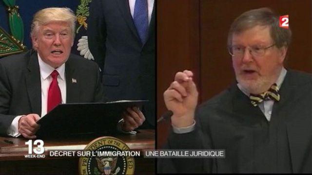 Décret anti-immigration : une bataille juridique est lancée