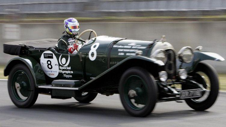 La Bentley Speed 8 vainqueur au Mans en 1924 (TOSHIFUMI KITAMURA / AFP)