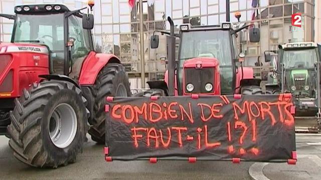 Agriculteurs : la crise se poursuit