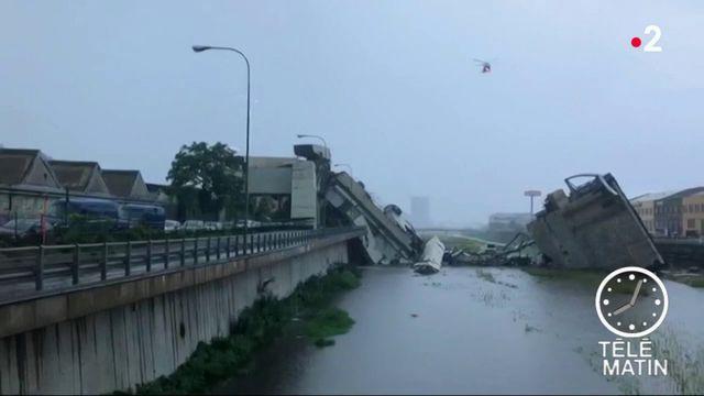 Effondrement d'un viaduc à Gênes : une catastrophe prévisible ?