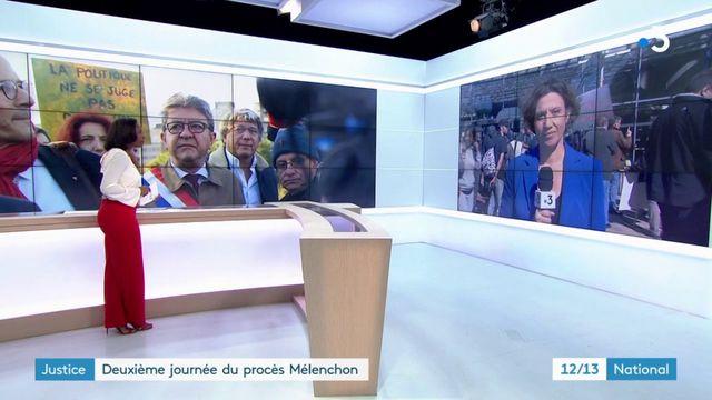 Procès Mélenchon : les parties civiles l'accusent d'avoir voulu monter l'affaire en épingle