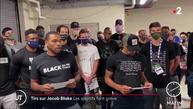 Tirs sur Jacob Blake: les sportifs américains font grève pour protester contre les injustices raciales