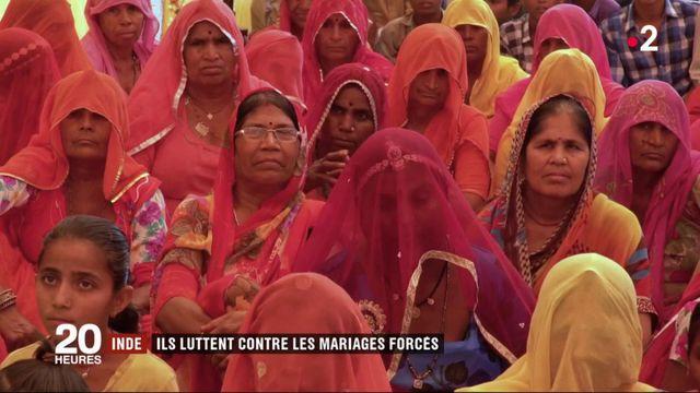 Inde : ils luttent contre les mariages français